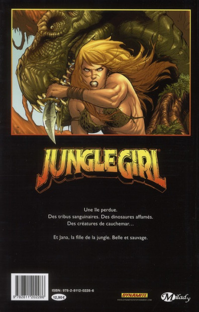 Dos jungle girl tome 1