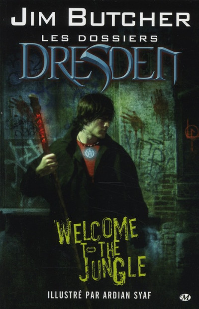 Couverture les dossiers dresden tome 1 - welcome to the jungle