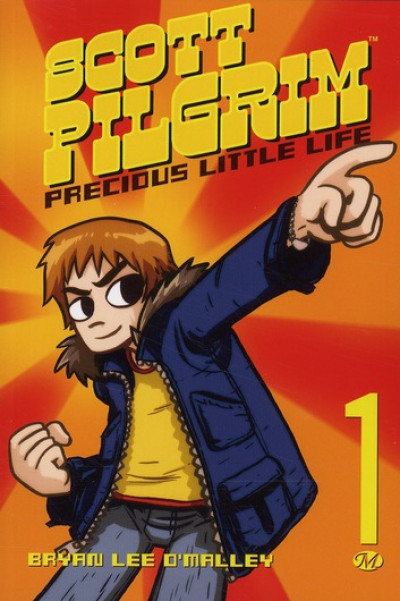 Couverture scott pilgrim tome 1 - precious little life