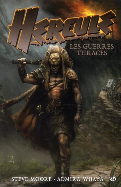 Couverture hercule : les guerres thraces
