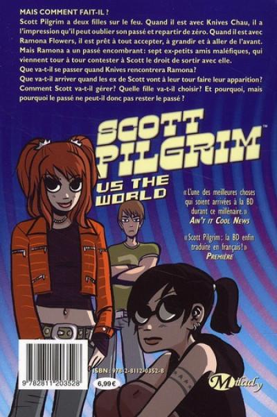 Dos scott pilgrim tome 2 - scott pilgrim vs the world