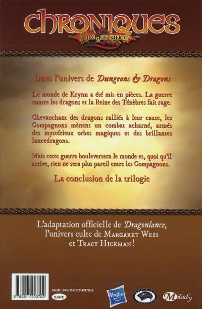 Dos chroniques de dragonlance tome 4 - dragons d'une aube de printemps tome 2