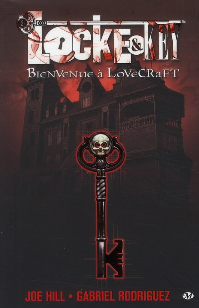 Couverture Locke & Key tome 1 - bienvenue a Lovecraft