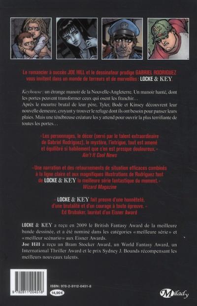 Dos Locke & Key tome 1 - bienvenue a Lovecraft