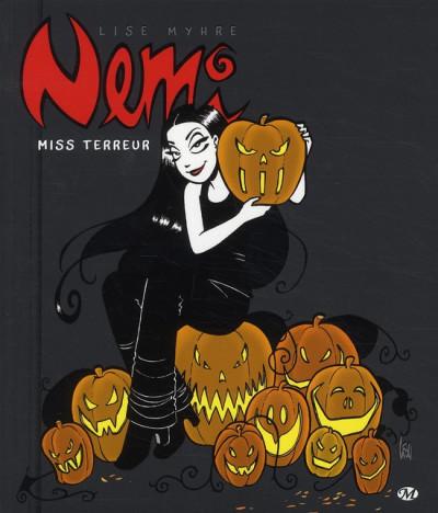 Couverture Nemi tome 3 - miss Terreur