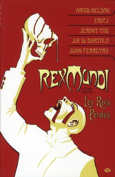 Couverture rex Mundi tome 3 - les rois perdus