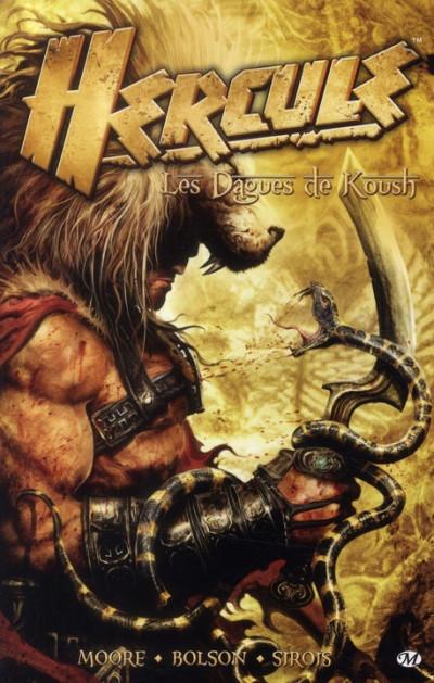 Couverture Hercule ; les dagues de Kousch