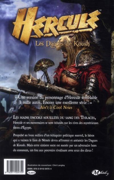 Dos Hercule ; les dagues de Kousch