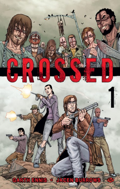 Couverture crossed T.1