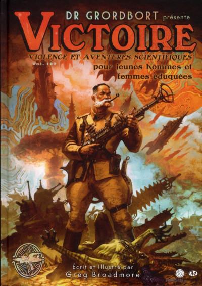 Couverture dr. grordbort présente : victoire