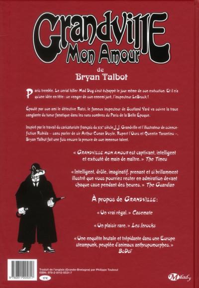 Dos Grandville tome 2 - Grandville mon amour