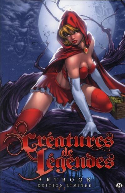 Couverture Créatures de légendes - artbook