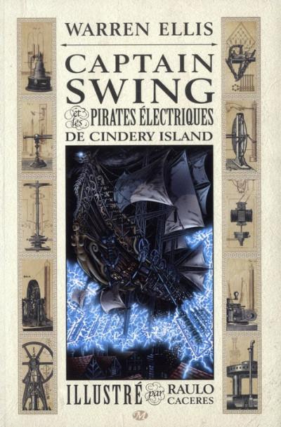 Couverture captain Swing et les pirates électriques de Cindery Island