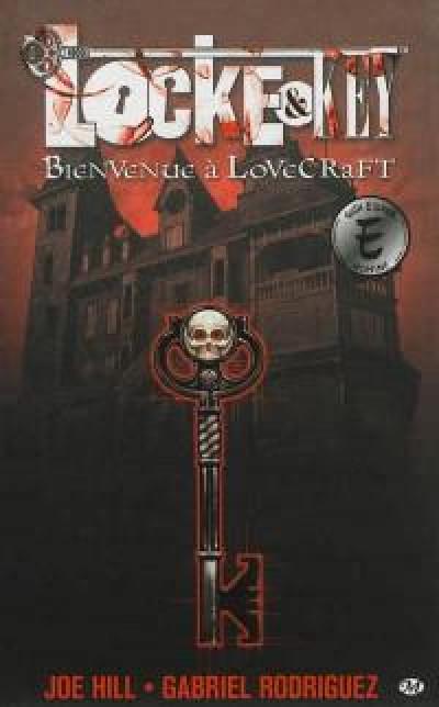 Couverture Locke & key tome 1 - bienvenue à Lovecraft