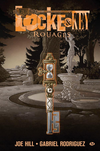 Couverture Locke & key tome 5 - rouages