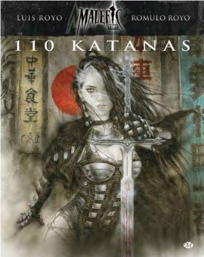 Couverture malefic time tome 2 - 110 katanas