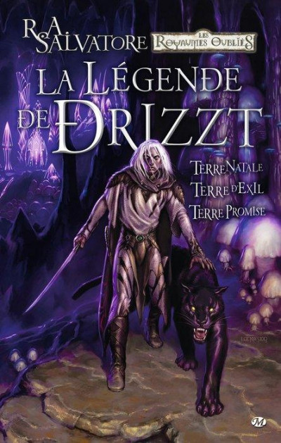 Couverture la légende de Drizzt - intégrale tome 1