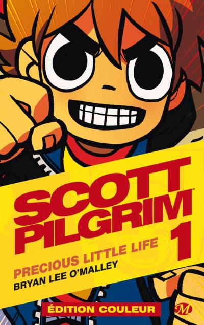 Couverture Scott pilgrim - édition couleur tome 1
