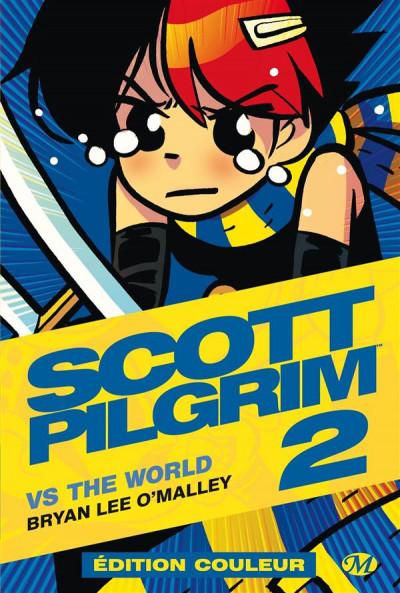 Couverture Scott Pilgrim - édition couleur tome 2
