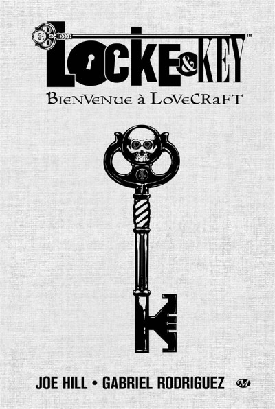 Couverture Locke & Key tome 1 - bienvenue à Lovecraft - édition collector
