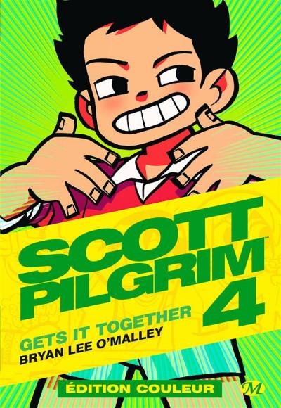 Couverture Scott Pilgrim - édition couleur tome 4