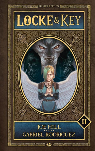Couverture Locke & key - intégrale tome 2