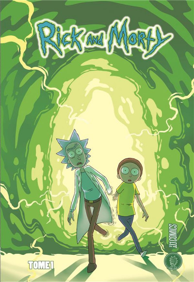 Couverture Rick & Morty tome 1