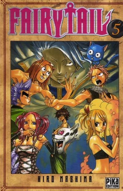Couverture fairy tail tome 5