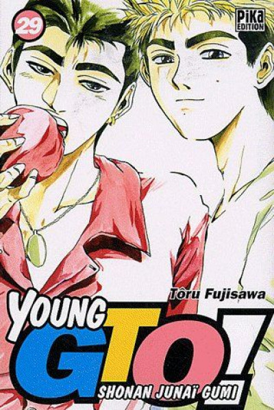Couverture young gto tome 29