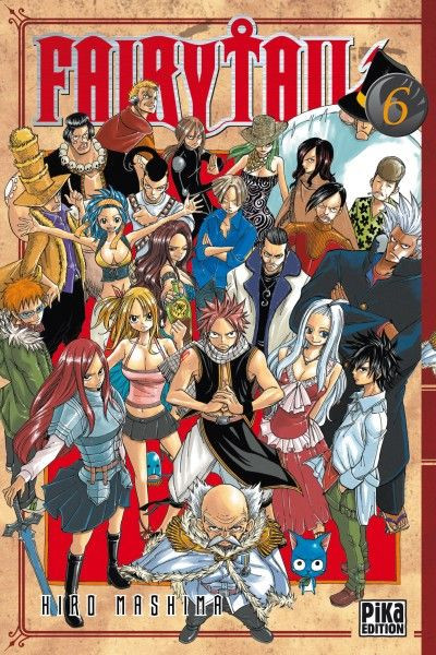 Couverture fairy tail tome 6