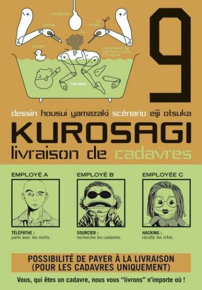Couverture kurosagi, livraison de cadavres tome 9