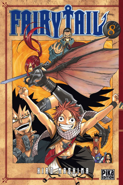 Couverture fairy tail tome 8