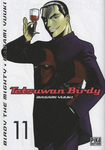 Couverture tetsuwan birdy tome 11