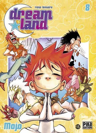 Couverture dreamland tome 8 - mojo
