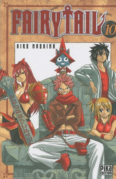 Couverture fairy tail tome 10