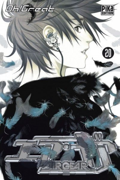 Couverture air gear tome 20