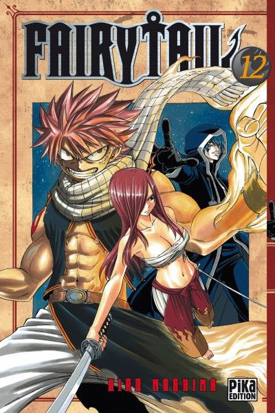 Couverture fairy tail tome 12