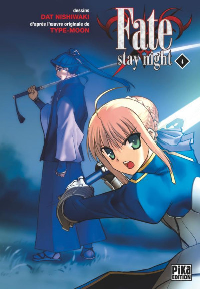 Couverture fate stay night tome 4