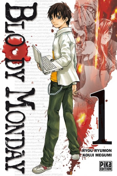 Couverture bloody monday tome 1