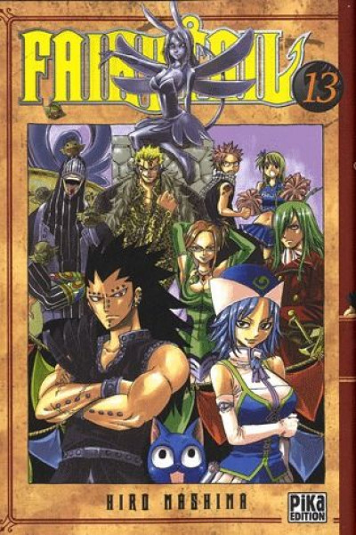 Couverture fairy tail tome 13