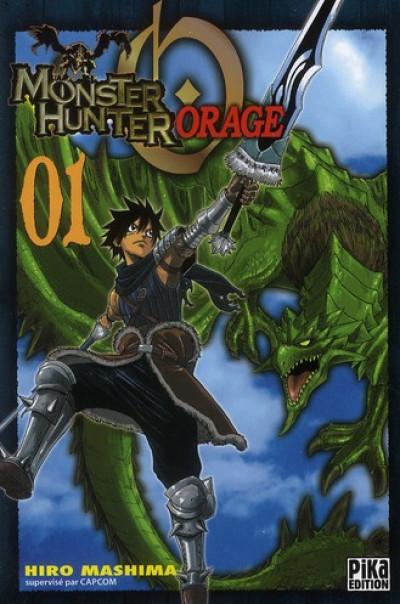 Couverture monster hunter orage tome 1