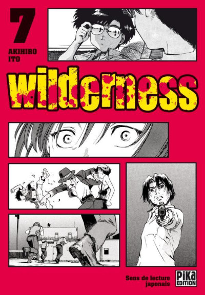 Couverture wilderness tome 7