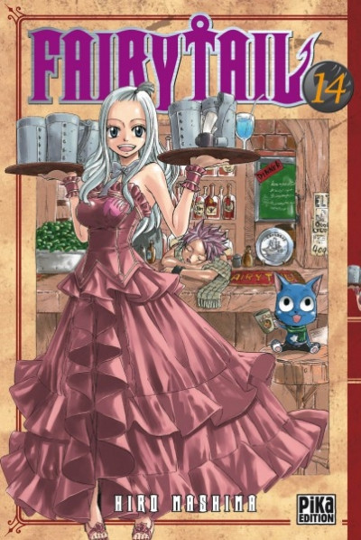 Couverture fairy tail tome 14