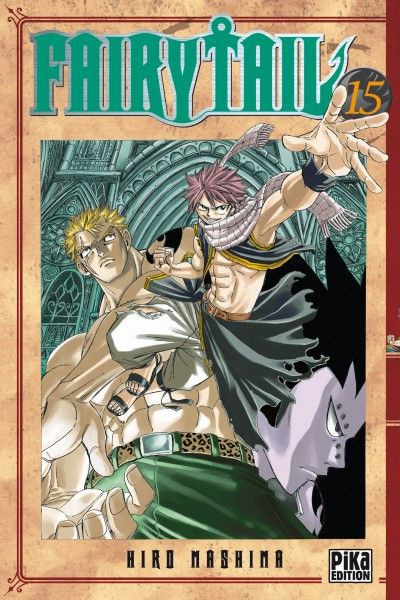 Couverture fairy tail tome 15