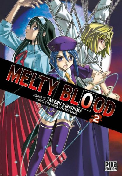Couverture melty blood tome 2