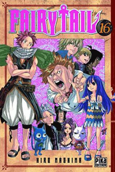 Couverture fairy tail tome 16