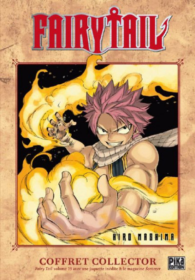 Couverture Fairy tail tome 19 - coffret collector