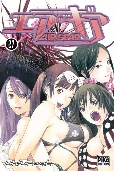 Couverture air gear tome 27