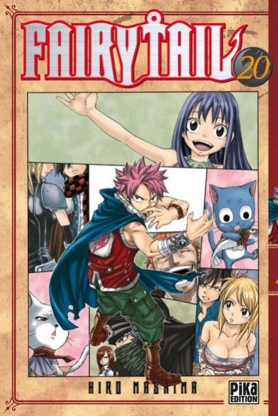Couverture fairy tail tome 20