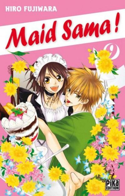 Couverture maid sama ! tome 9